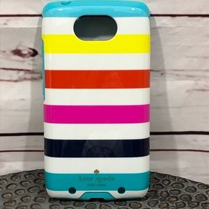 {KATE SPADE} COLORFUL & STRIPED CELL PHONE COVER